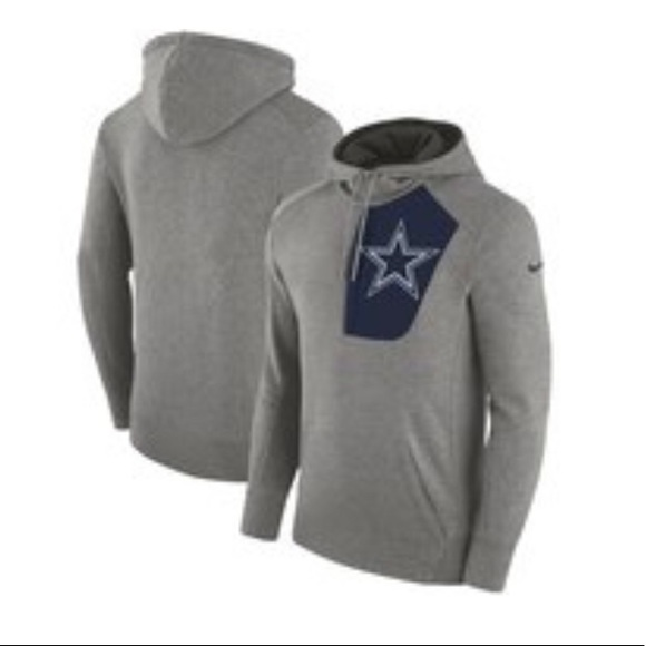 release date 4bbef be6e9 Dallas Cowboys Nike Fly Fleece Pullover Hoodie